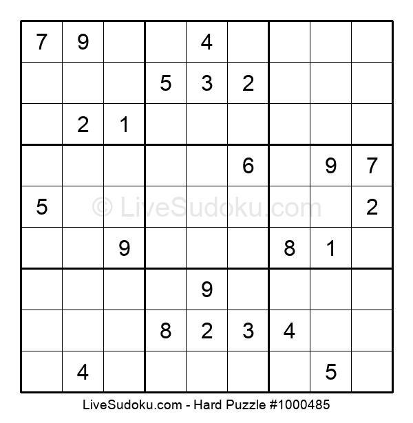 Hard Puzzle #1000485