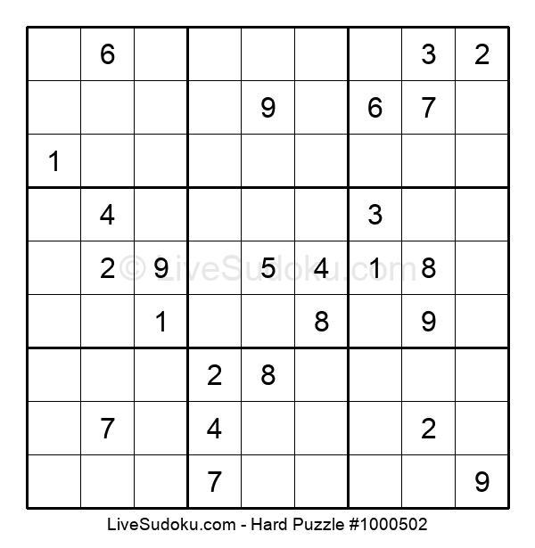 Hard Puzzle #1000502