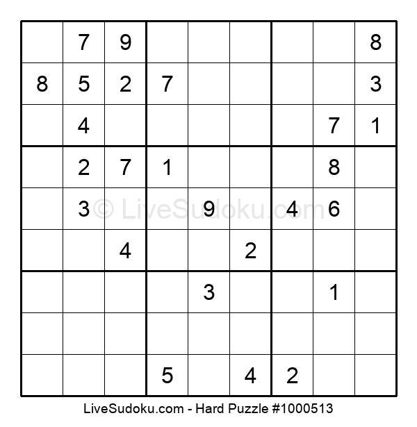 Hard Puzzle #1000513