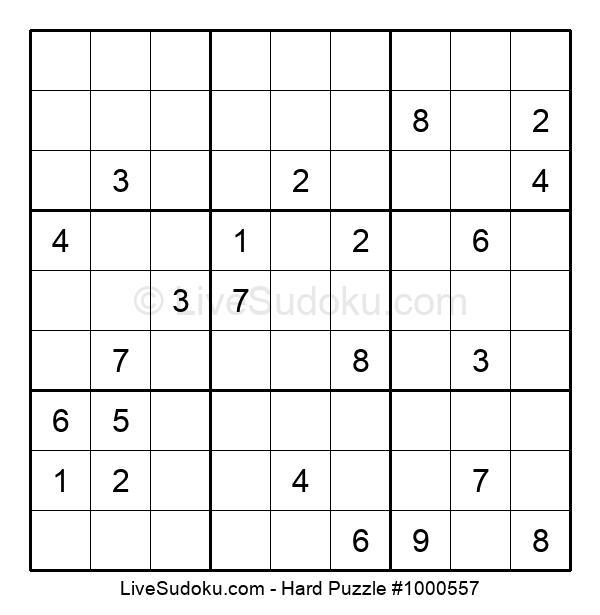 Hard Puzzle #1000557
