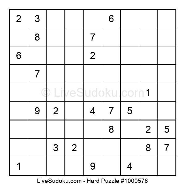Hard Puzzle #1000576