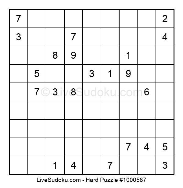 Hard Puzzle #1000587
