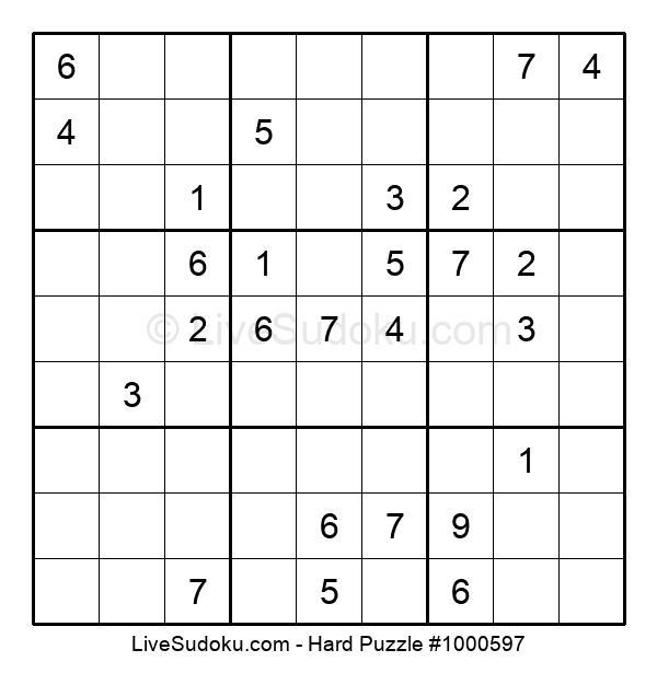Hard Puzzle #1000597