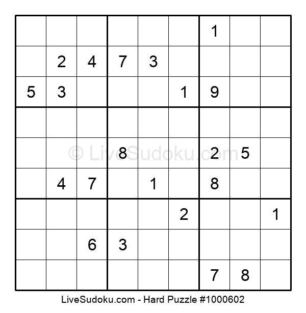 Hard Puzzle #1000602