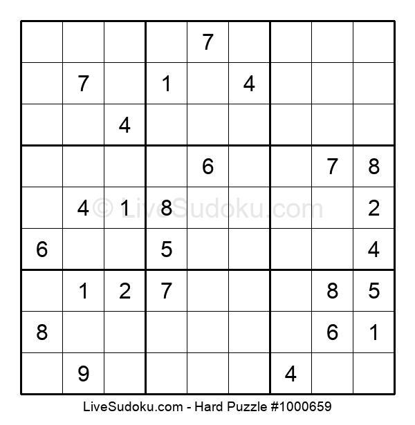 Hard Puzzle #1000659