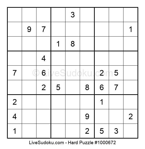 Hard Puzzle #1000672