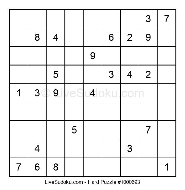 Hard Puzzle #1000693