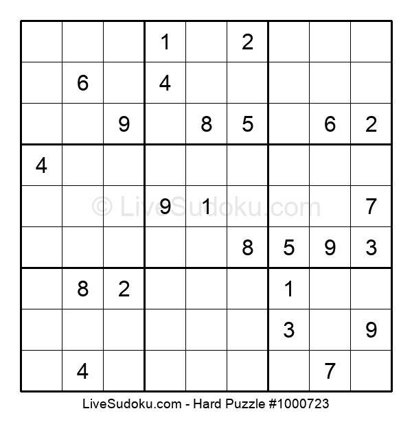 Hard Puzzle #1000723