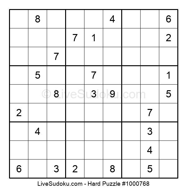 Hard Puzzle #1000768