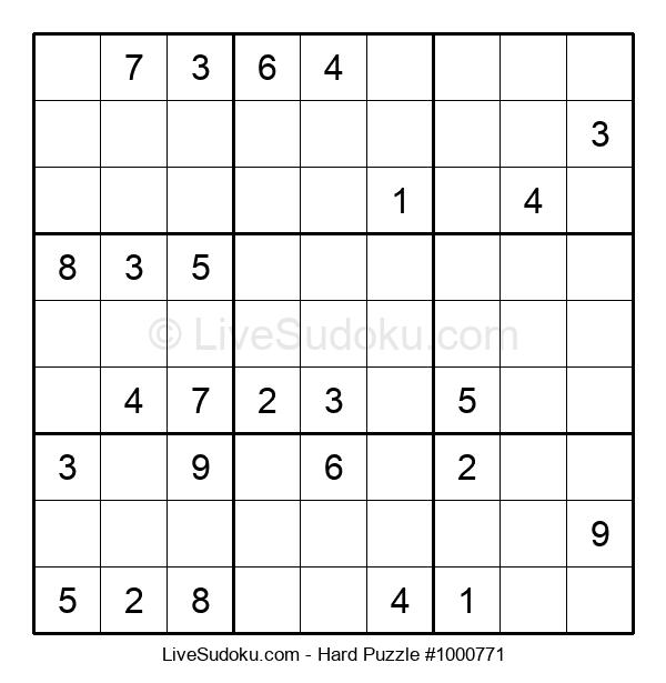 Hard Puzzle #1000771