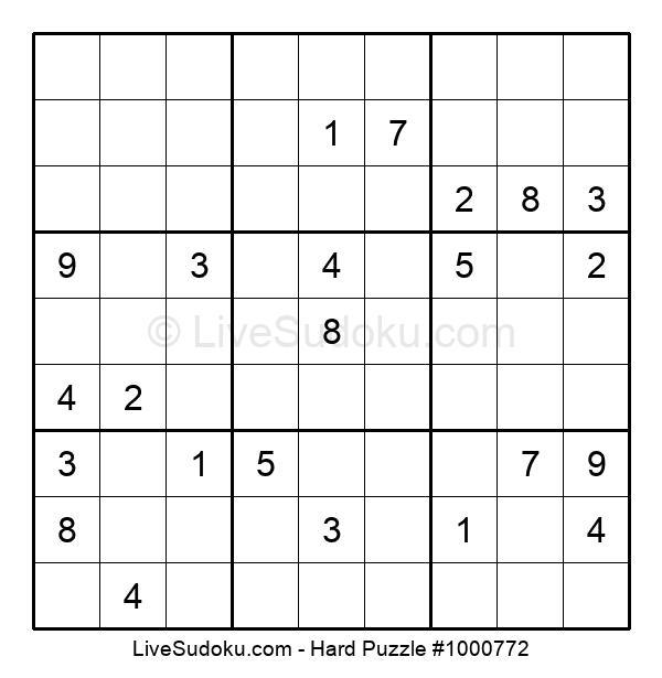 Hard Puzzle #1000772