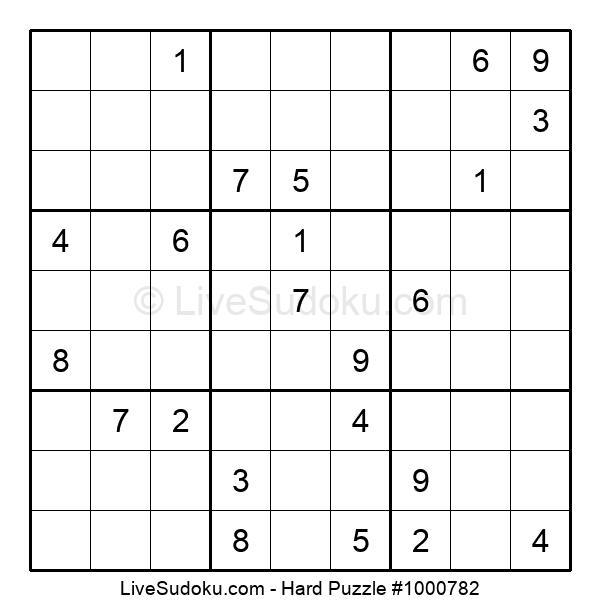 Hard Puzzle #1000782