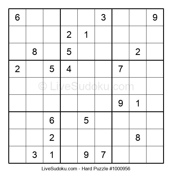 Hard Puzzle #1000956