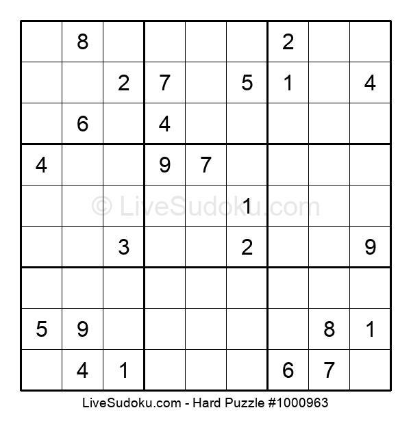 Hard Puzzle #1000963