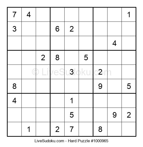 Hard Puzzle #1000965
