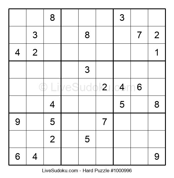 Hard Puzzle #1000996