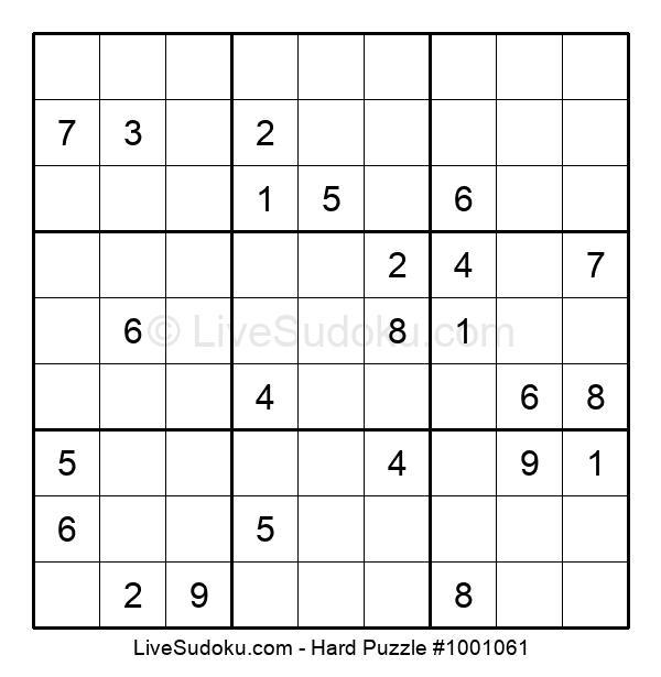 Hard Puzzle #1001061