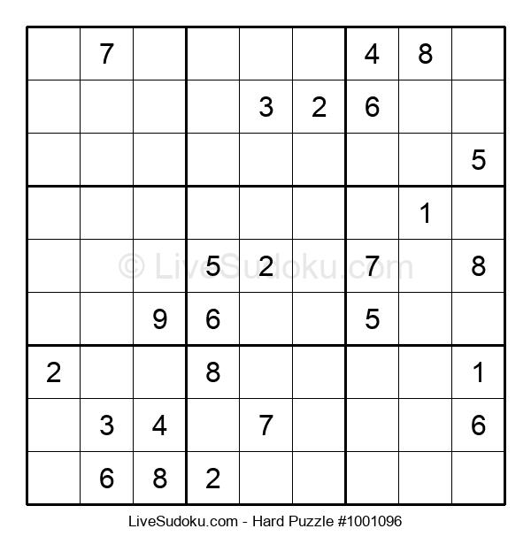 Hard Puzzle #1001096