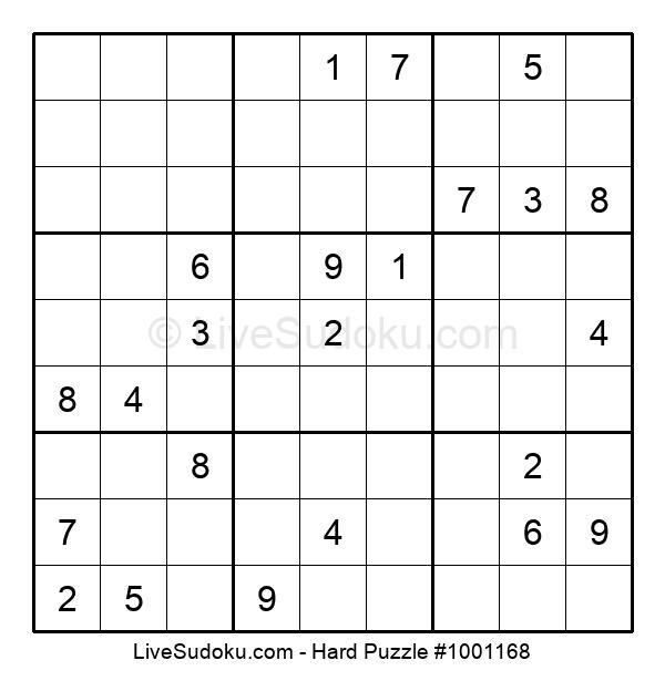 Hard Puzzle #1001168