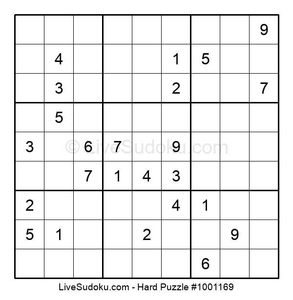 Hard Puzzle #1001169