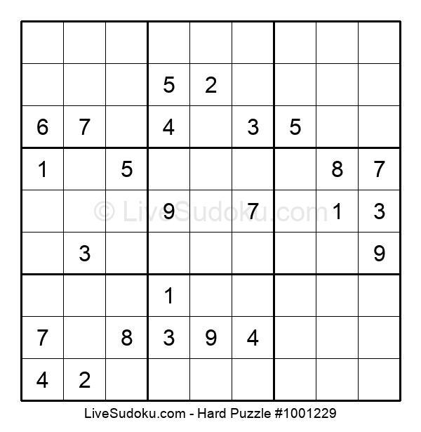 Hard Puzzle #1001229