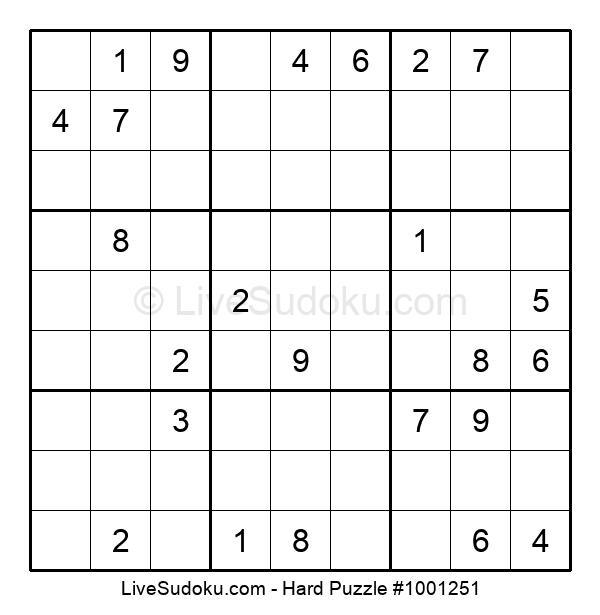 Hard Puzzle #1001251