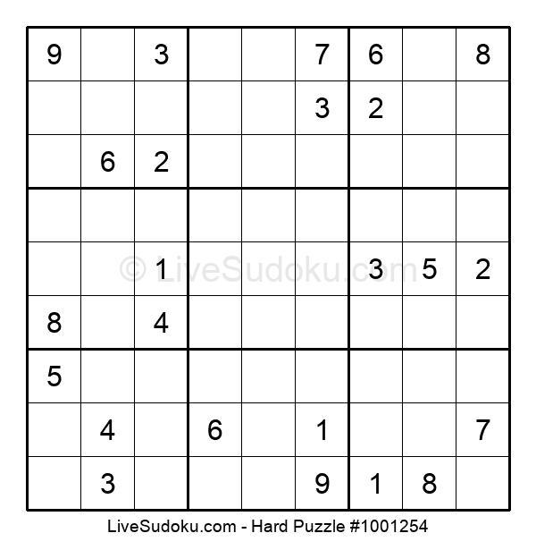 Hard Puzzle #1001254