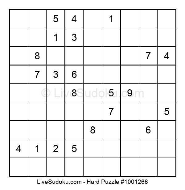 Hard Puzzle #1001266