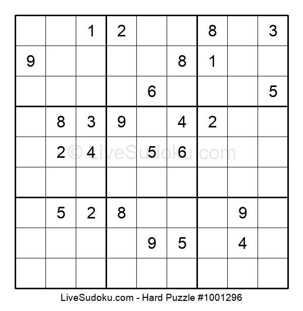 Hard Puzzle #1001296