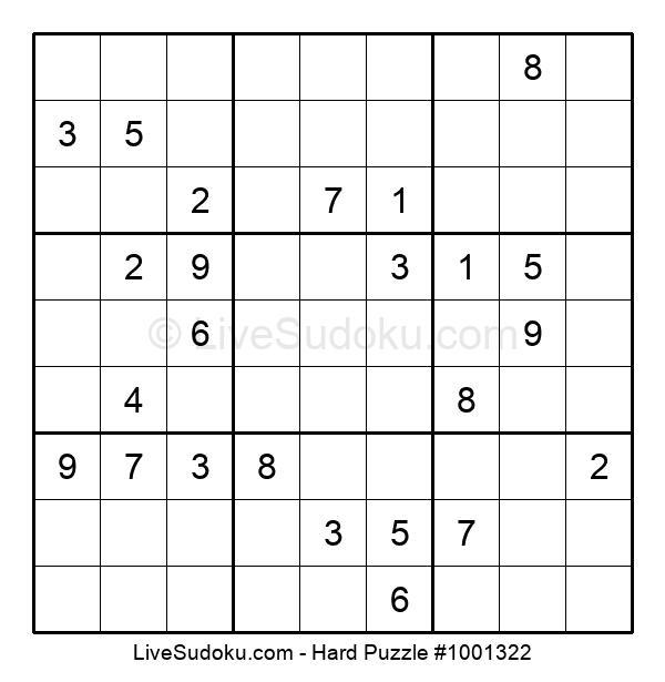 Hard Puzzle #1001322