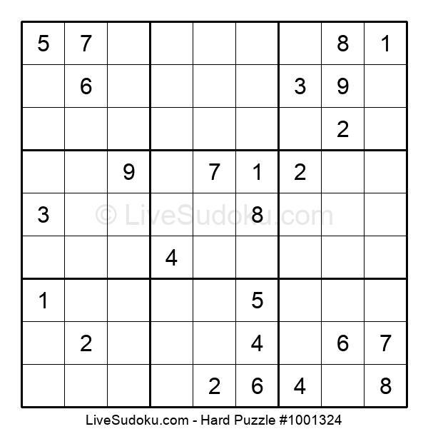 Hard Puzzle #1001324
