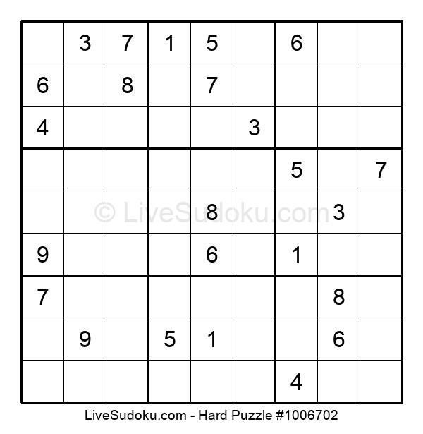 Hard Puzzle #1006702