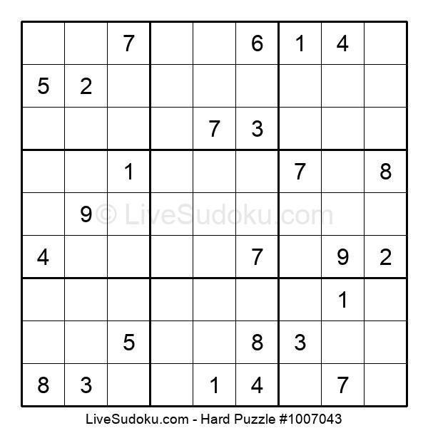Hard Puzzle #1007043