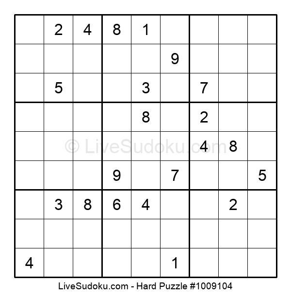 Hard Puzzle #1009104
