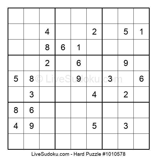 Hard Puzzle #1010578