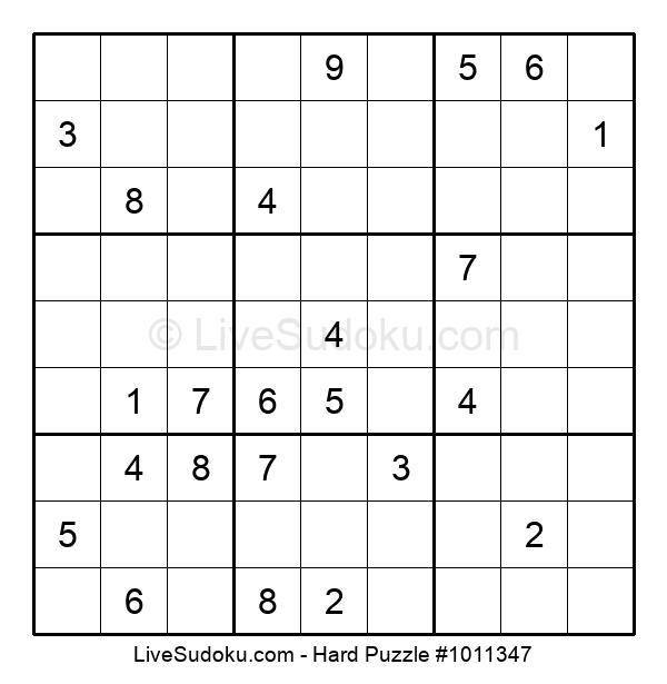 Hard Puzzle #1011347