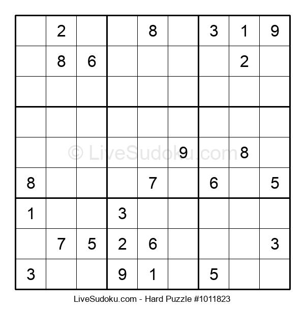 Hard Puzzle #1011823