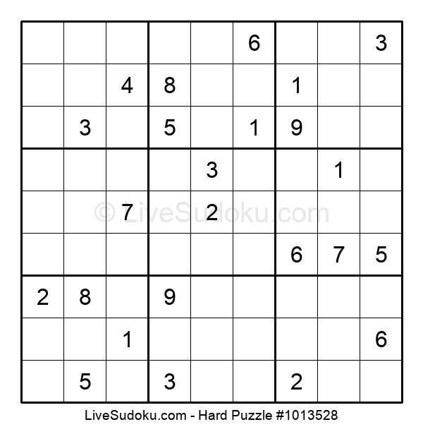Hard Puzzle #1013528
