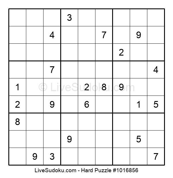 Hard Puzzle #1016856