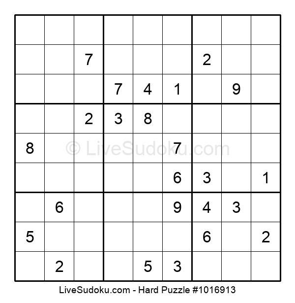 Hard Puzzle #1016913