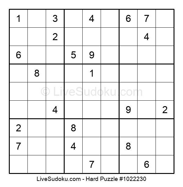 Hard Puzzle #1022230