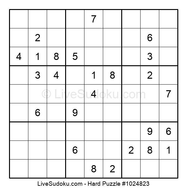 Hard Puzzle #1024823