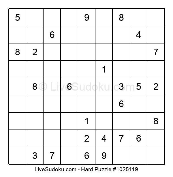 Hard Puzzle #1025119