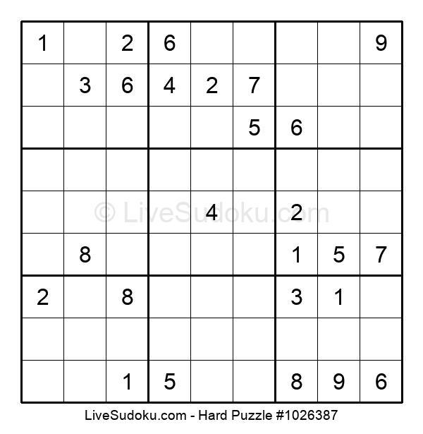 Hard Puzzle #1026387