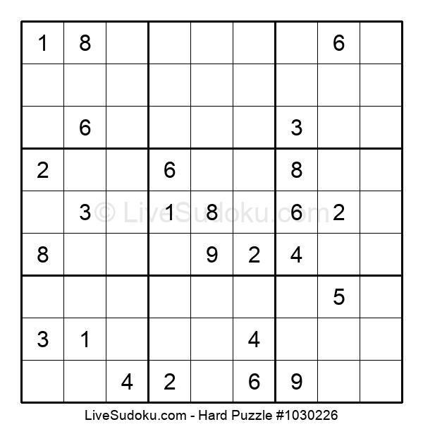 Hard Puzzle #1030226
