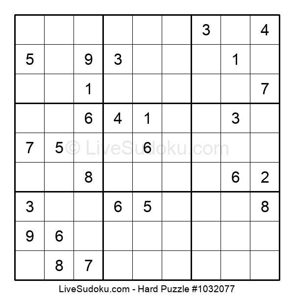 Hard Puzzle #1032077