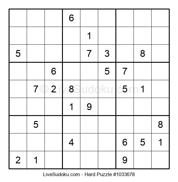 Hard Puzzle #1033678