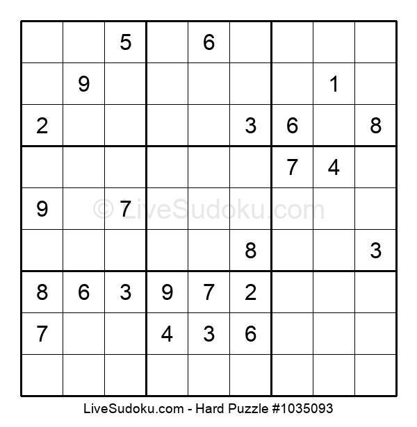 Hard Puzzle #1035093