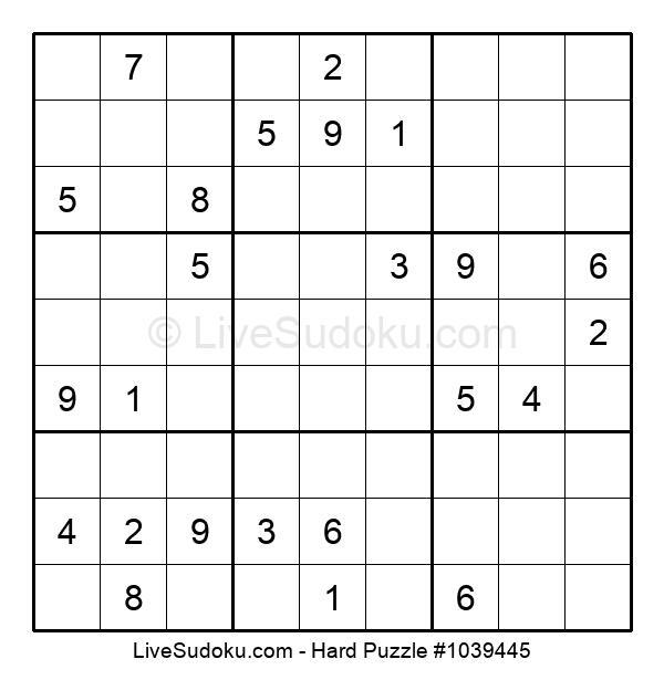 Hard Puzzle #1039445