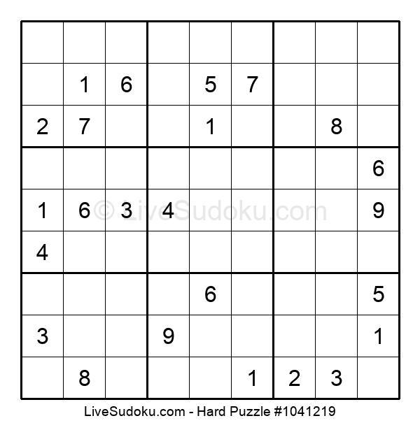 Hard Puzzle #1041219